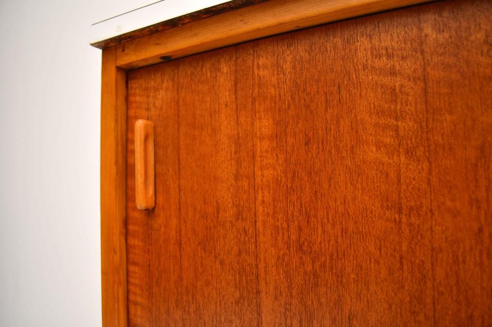Retro Teak Cabinet Sideboard By Frank Guille For Kandya