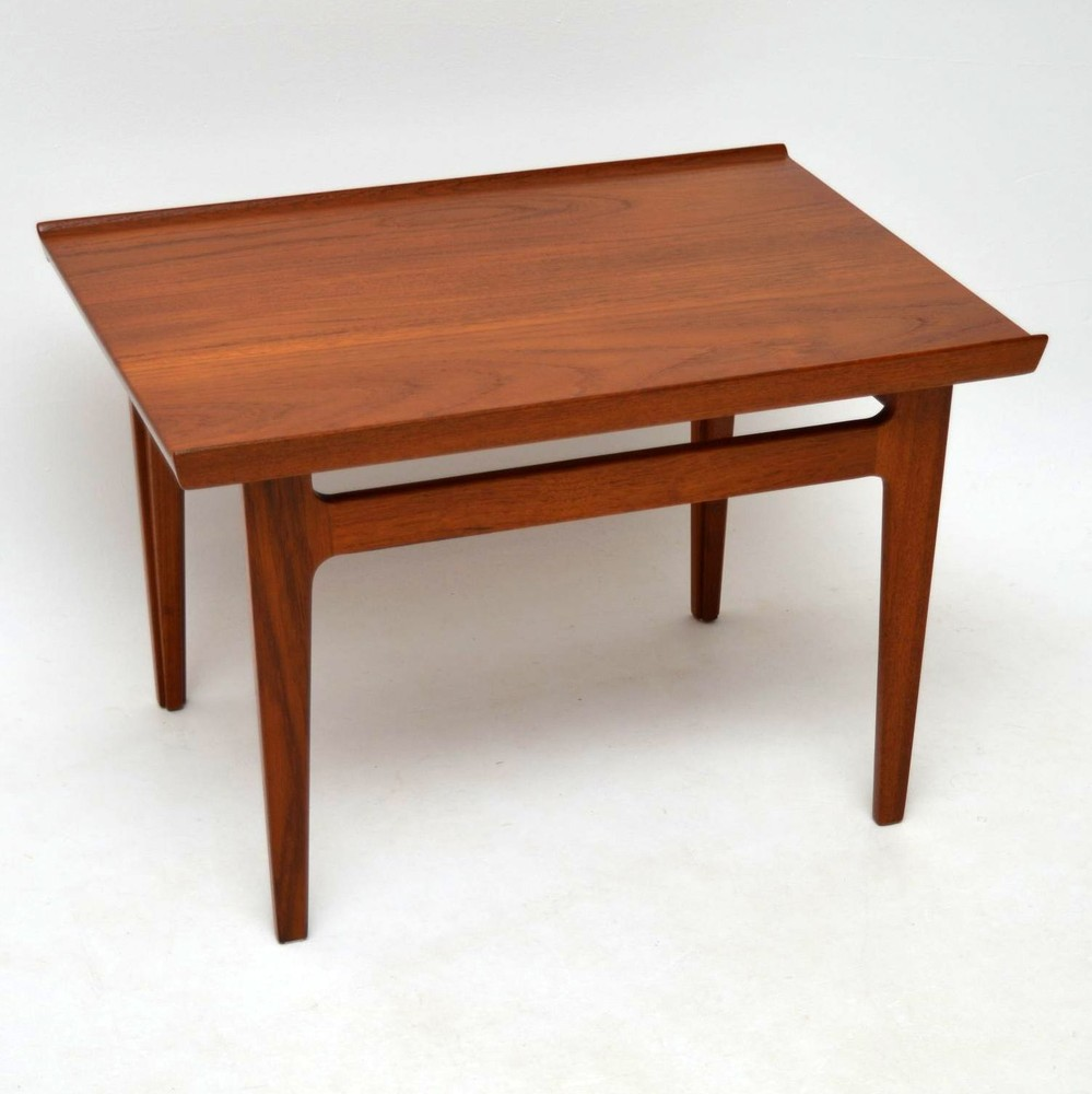 Retro Teak Coffee Table By Finn Juhl For France Son Vintage 1960 S Retrospective Interiors