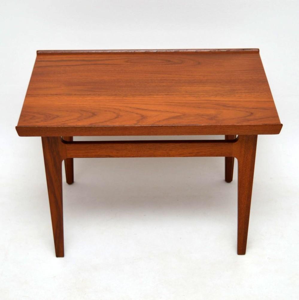 Retro Teak Coffee Table By Finn Juhl For France Son Vintage 1960 S Retrospective Interiors