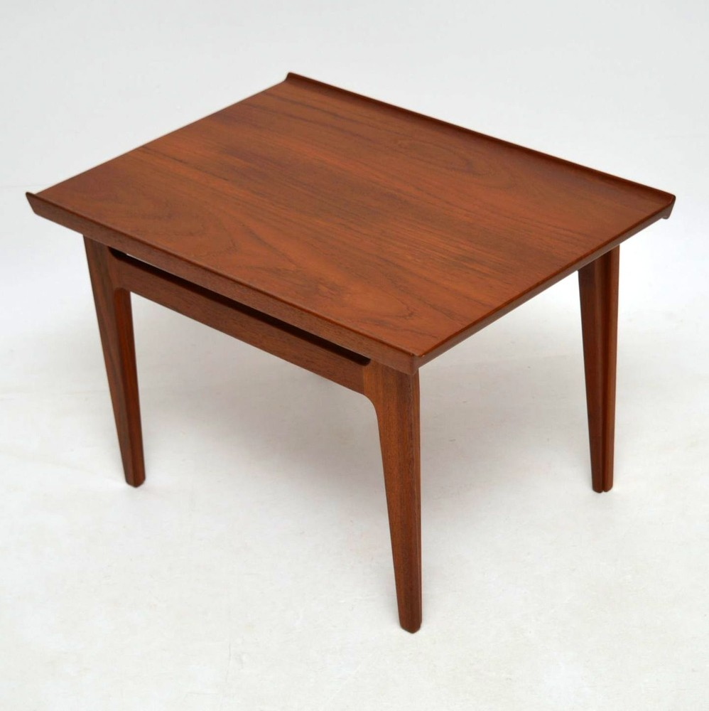 Retro Teak Coffee Table By Finn Juhl For France Amp Son