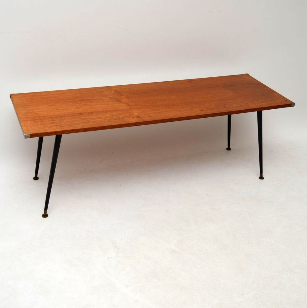 Retro Teak Coffee Table Vintage 1950 S Retrospective