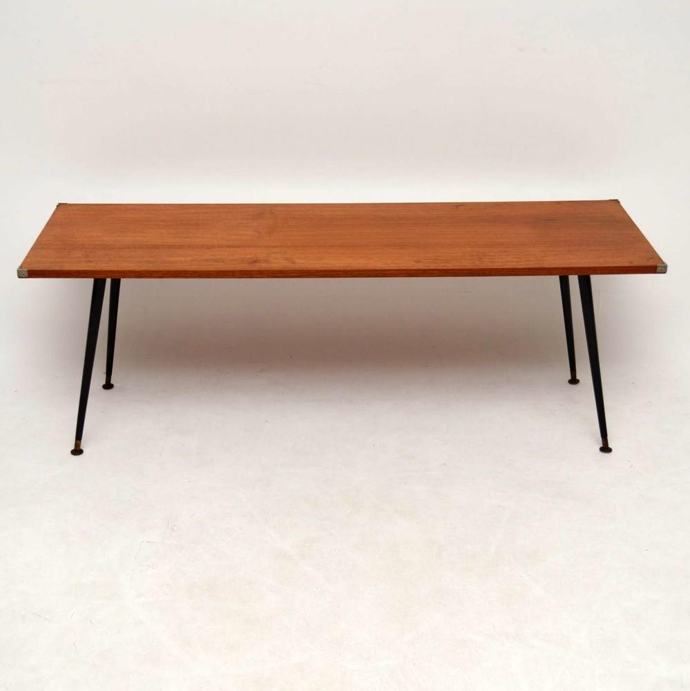 Vintage Teak Coffee Table: Retro Teak Coffee Table Vintage 1950'S