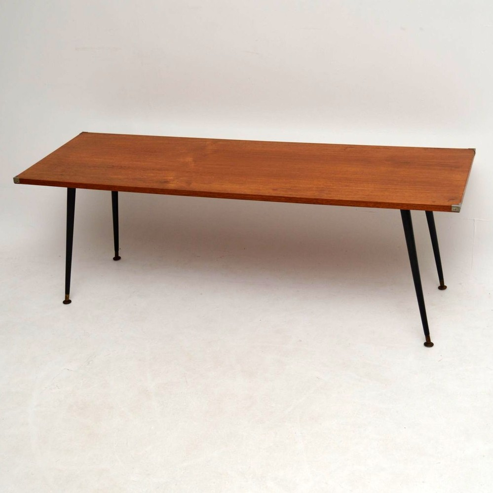 Vintage Teak Coffee Tables: Retro Teak Coffee Table Vintage 1950'S