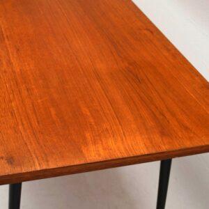 Retro Teak Coffee Table Vintage 1950'S