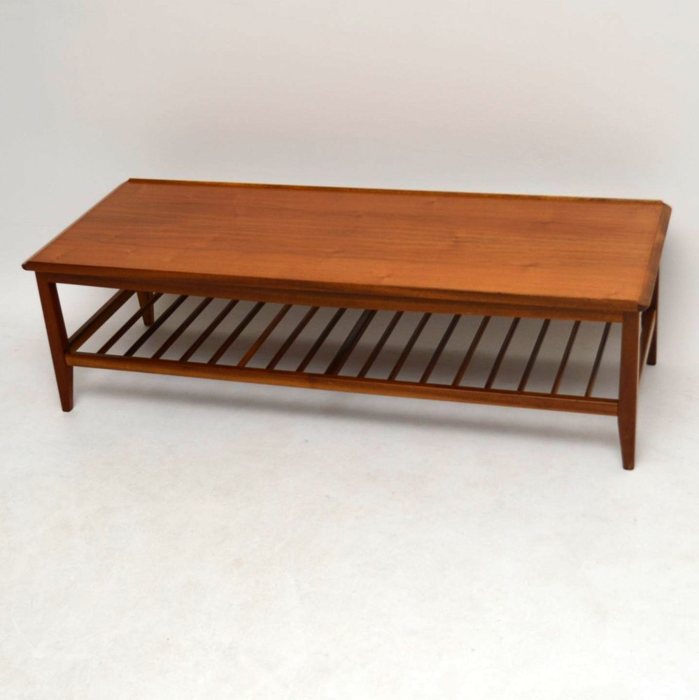 Vintage Teak Coffee Tables: Retro Teak Coffee Table Vintage 1960'S