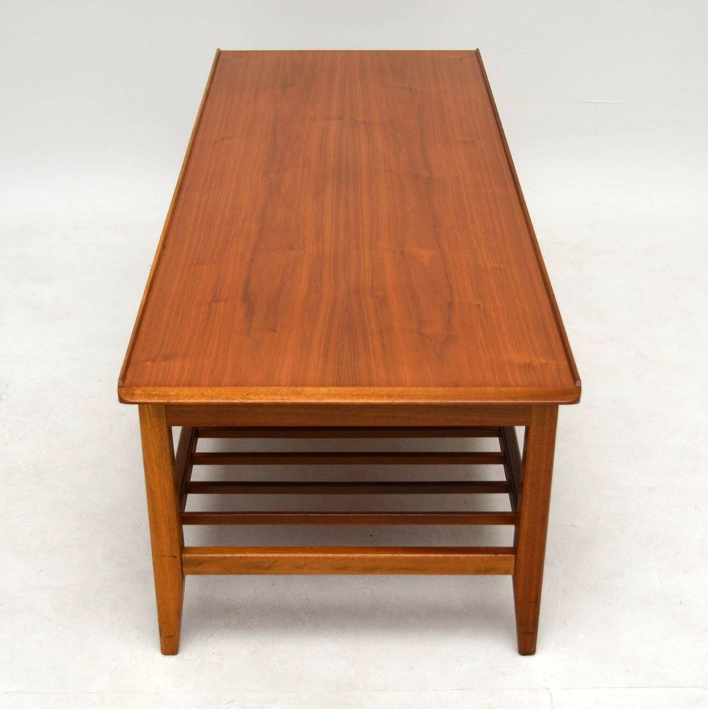 Retro Teak Coffee Table Vintage 1960 S Retrospective