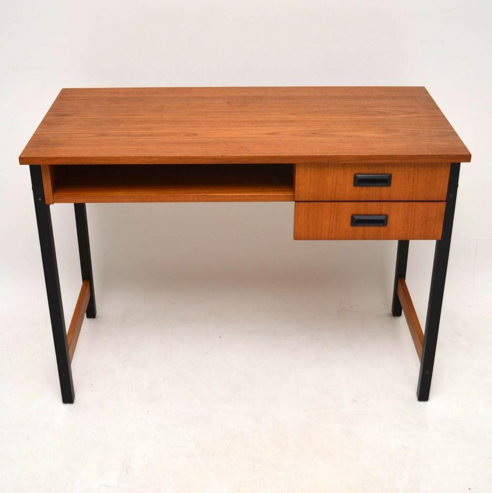 Retro Teak Desk Vintage 1970 S Retrospective Interiors