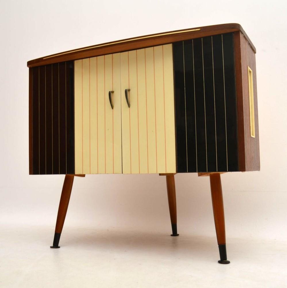 Retro T V Media Cabinet Vintage 1960 S Retrospective