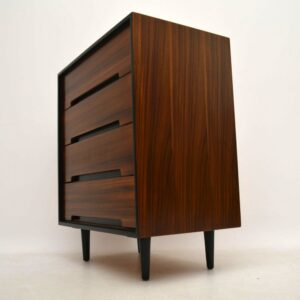 Retro Walnut Chest of Drawers by John & Sylvia Reid for Stag Vintage 1950's