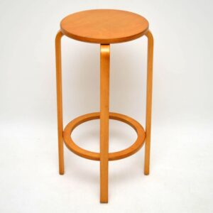 Set of 4 Retro Bentwood Bar Stools Vintage 1960's