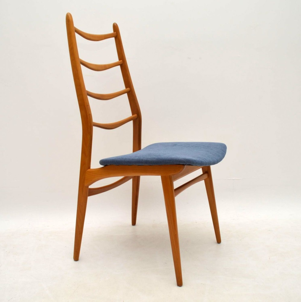 Set Of 6 Retro Dining Chairs Vintage 1950 S