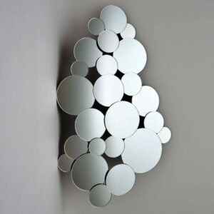 Large Impressive Decorative Mirror by Harrison & Gil