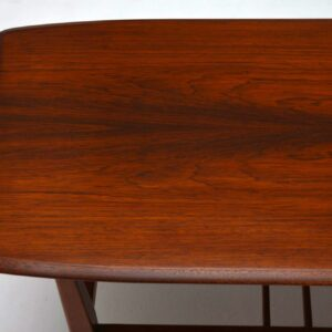 Retro Rosewood Coffee Table Vintage 1960's