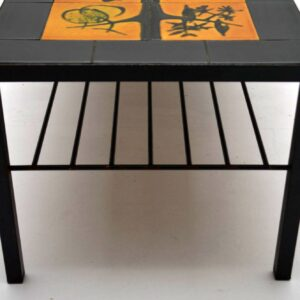 Retro Tiled Top Coffee Table Vintage 1960's