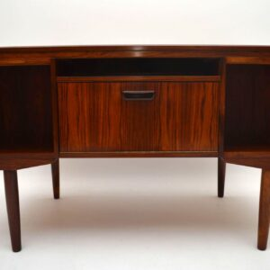 Danish Retro Rosewood Desk Vintage 1960's