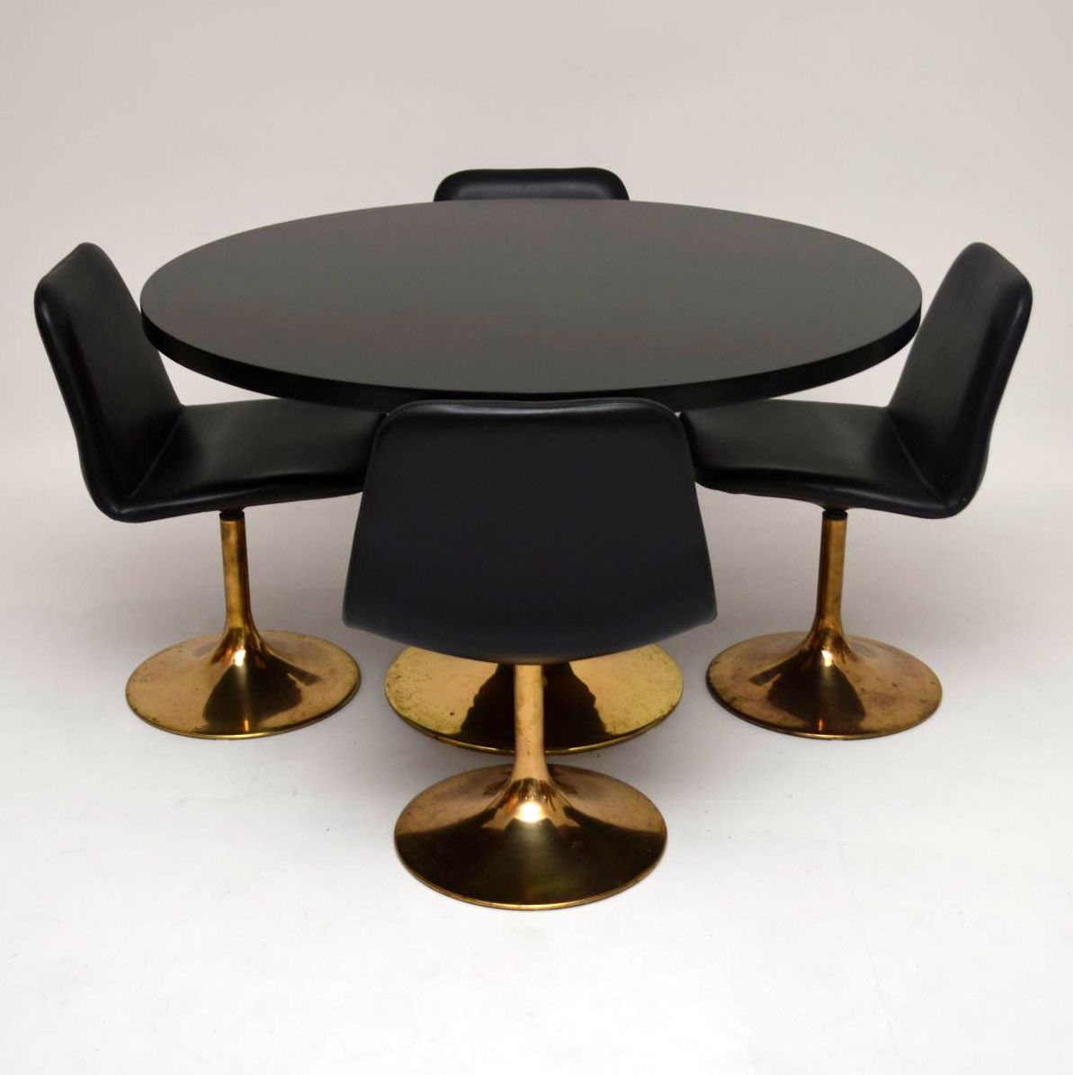Retro Swedish Dining Table Amp Chairs By Borje Johanson