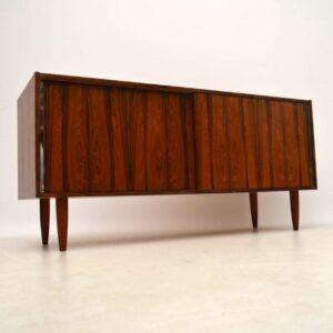 Danish Rosewood Retro Sideboard Vintage 1960's