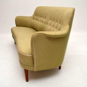 Retro Swedish 'Samsas' Sofa by Carl Malmsten Vintage 1960's