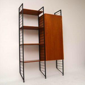 Retro Teak Ladderax Wardrobe / Shelves Vintage 1960's