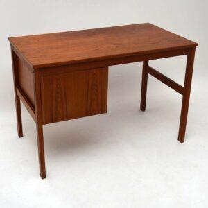 Danish Teak Retro Desk Vintage 1960's