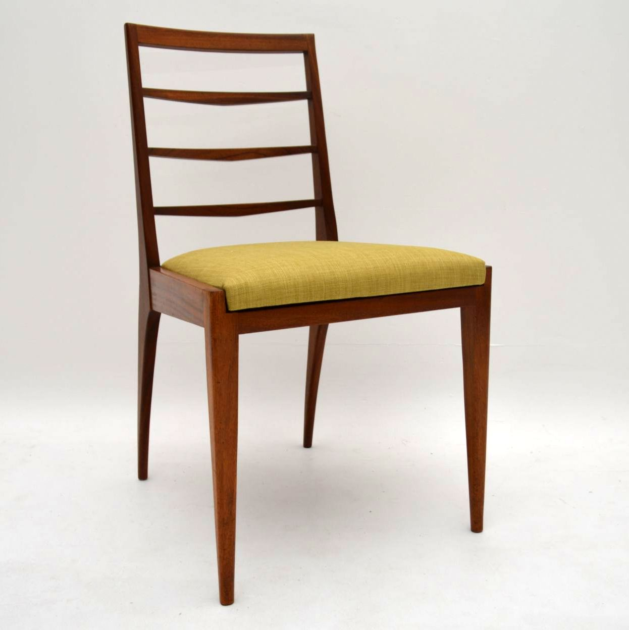Set Of 6 Retro Teak Dining Chairs By McIntosh Vintage 1960