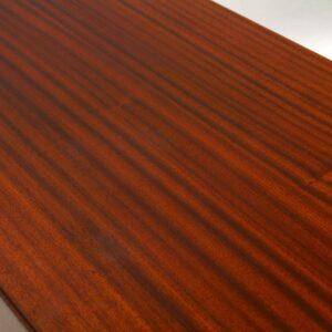 Retro Satin Wood & Mahogany Sideboard by Vanson Vintage 1950's