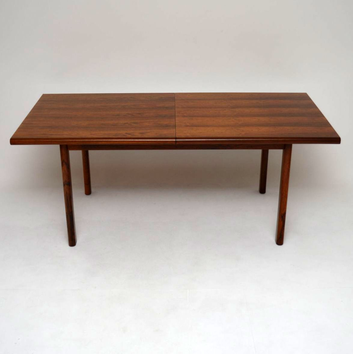 Retro Rosewood Dining Table By Gordon Russell Vintage 1960