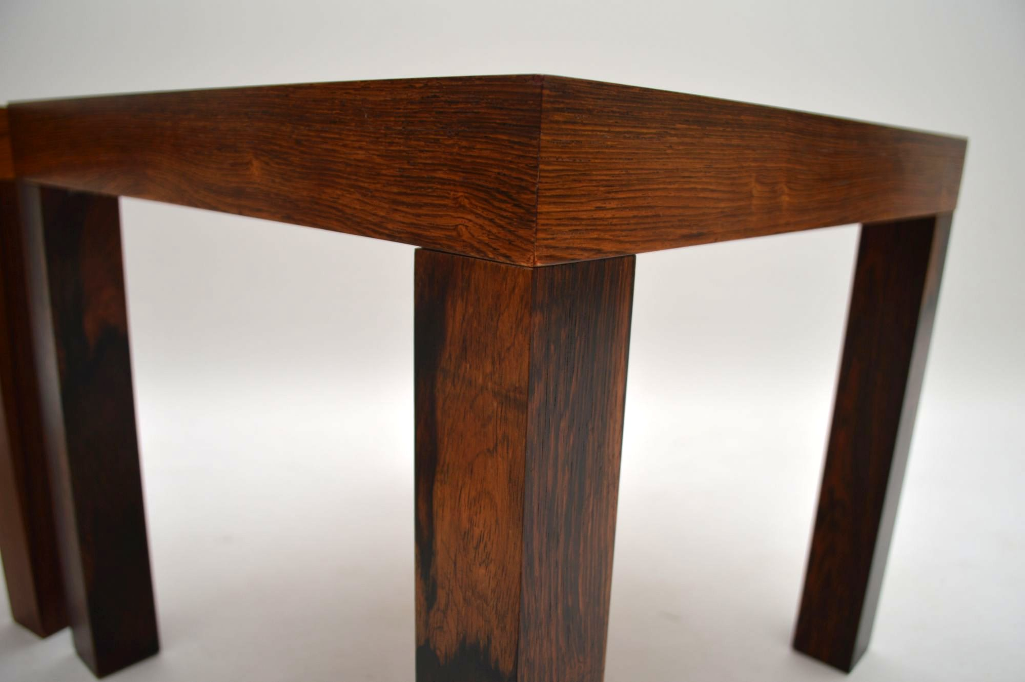 Pair Of Danish Rosewood Side Tables By Centrum Mobler