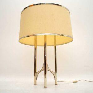 Retro Italian Floor Lamp by Gaetano Sciolari Vintage 1960's