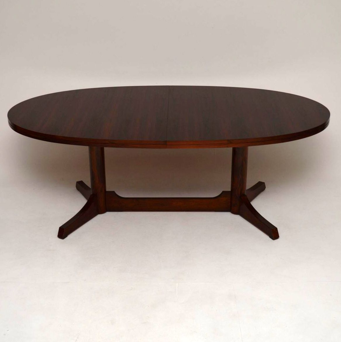 Retro Rosewood Dining Table by Robert Heritage for Archie Shine Vintage 1960's