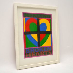Mending Broken Hearts - Signed Limited Edition Silkscreen Print by Peter Blake 6/150