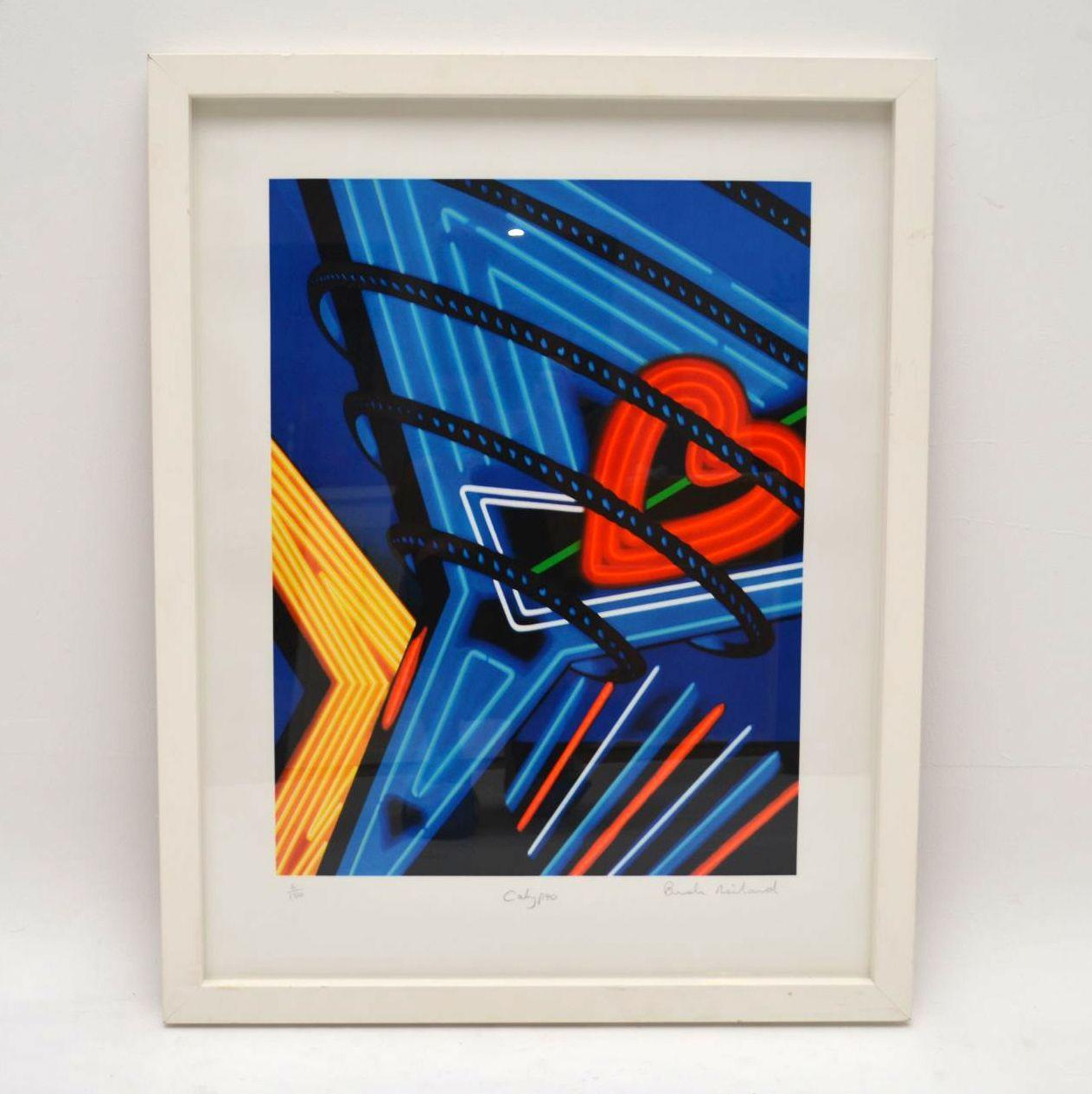 Calyspo - Signed Limited Edition Silkscreen Print by Brendan Neiland 6/150