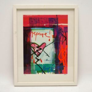 Repare! Por Favor - Signed Limited Edition Silkscreen Print by Barbara Rae 6/150