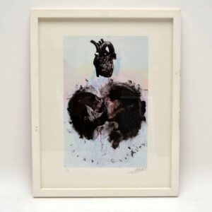 I Brake Everything - Signed Limited Edition Silkscreen Print by Antony Micallef 6/150