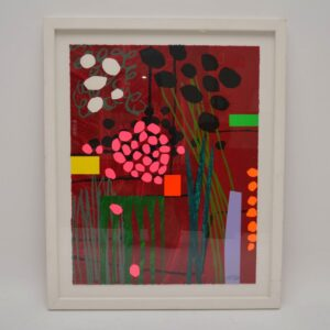 Healing Garden - Large Limited Edition Silkscreen Print by Bruce McLean 6/150