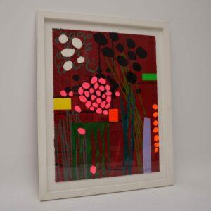 Healing Garden - Large Limited Edition Silkscreen Print by Bruce McLean 6/150