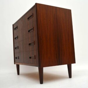 Danish Retro Rosewood Chest of Drawers by Borge Seindal Vintage 1960's
