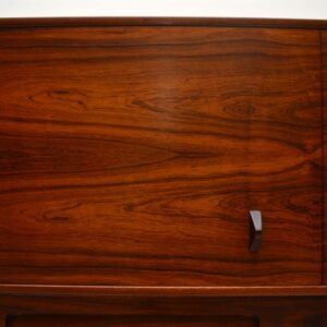 Rosewood Retro Drinks Cabinet by McIntosh Vintage 1960's