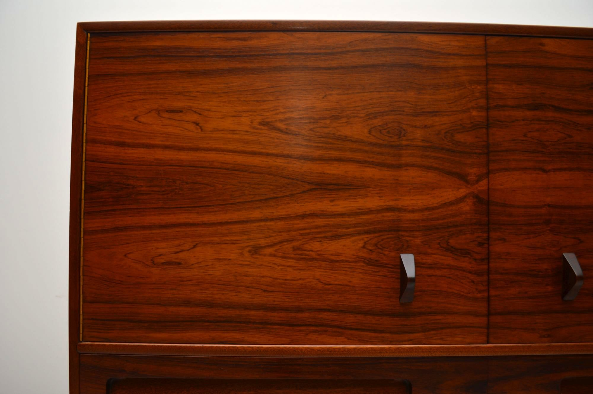 Rosewood Retro Drinks Cabinet By Mcintosh Vintage 1960 S
