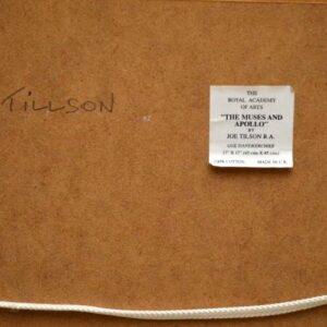 """""""The Muses & Apollo"""" By Joe Tilson RA - Mounted Print On Cloth"""