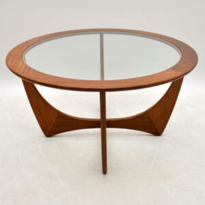 Retro Teak Astro Coffee Table By G- Plan Vintage 1960'S