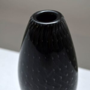 Retro Swedish Glass Vase By Ernest Gordon For Afors Vintage 1960'S