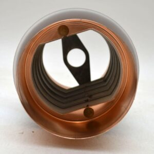 Danish Retro Copper Pendant Lamp Shade Vintage 1960's