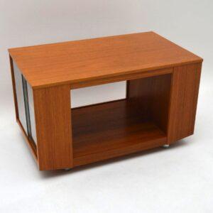 Retro Teak Coffee Table Vintage 1960's