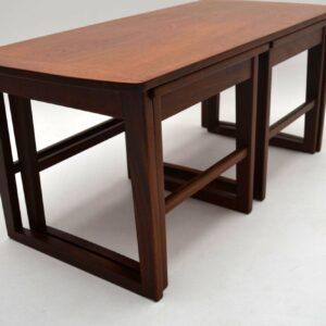 Retro Teak Nesting Coffee Table Vintage 1960's