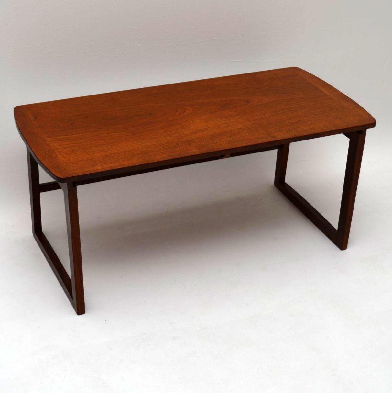 Retro Teak Nesting Coffee Table Vintage 1960 S