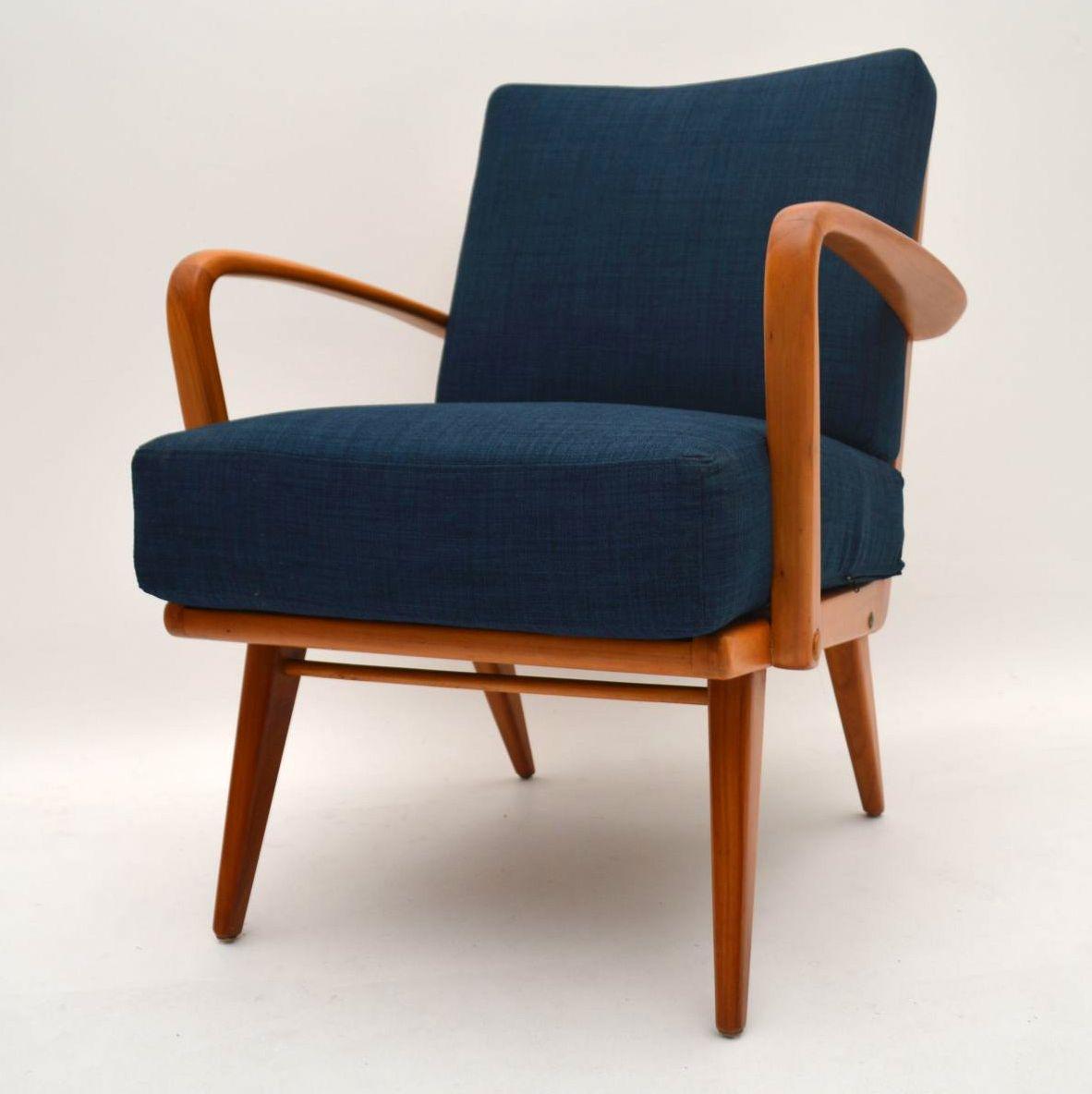 pair of retro armchairs vintage 1950 s retrospective interiors