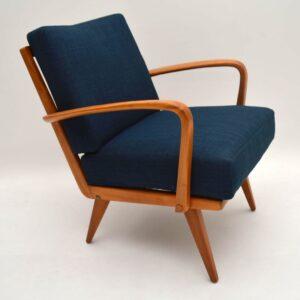 Pair of Retro Armchairs Vintage 1950's