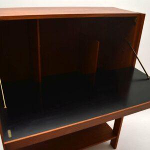 Danish Teak Retro Drinks Cabinet Vintage 1960's