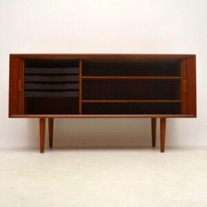 Danish Teak Retro Sideboard By Svend Aage Larsen Vintage 1960's